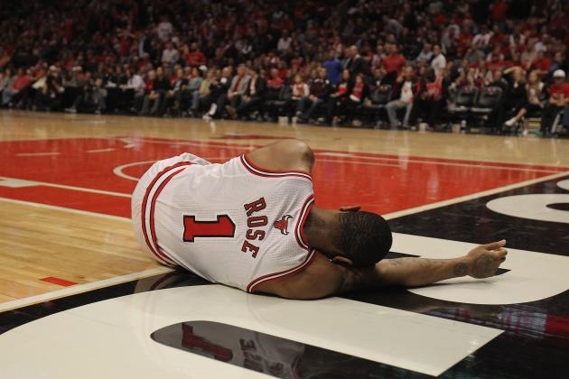 2012 NBA Playoffs: Derrick Rose Tears ACL, Done for the Season