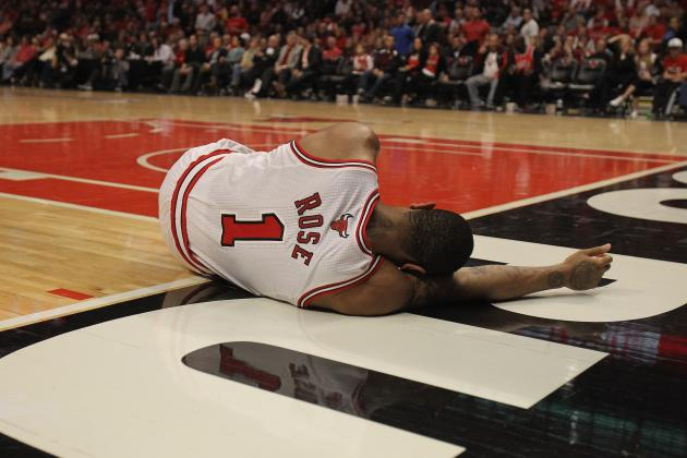 Derrick Rose out for the Remainder of NBA Playoffs