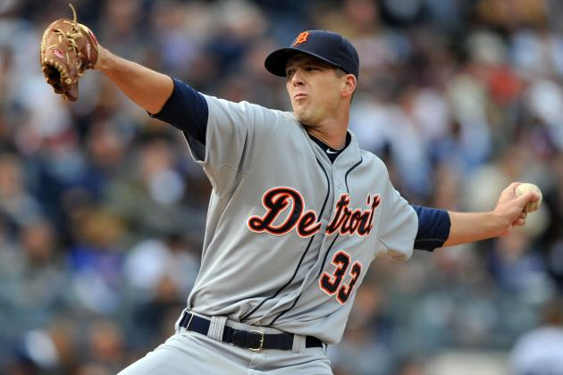Drew Smyly Gets First MLB Win, Detroit Tigers End Skid, Beat Yankees 7-5