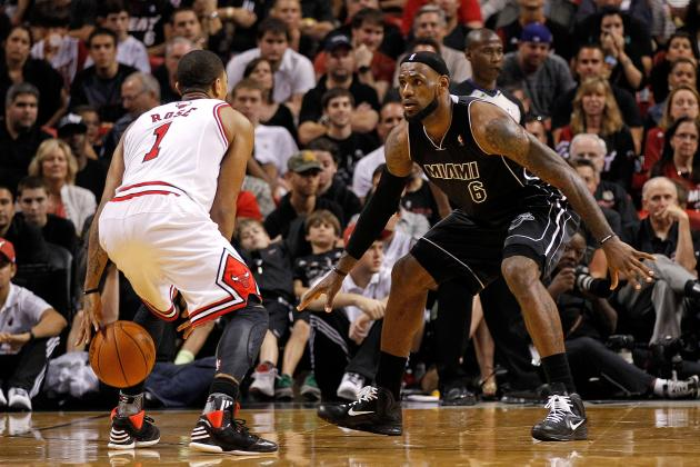 NBA Playoff 2012 Predictions: Miami Heat Won't Drop East with Derrick Rose Done