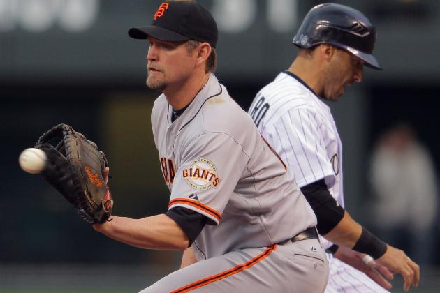 San Francisco Giants Would Be Harsh to Release Aubrey Huff Now