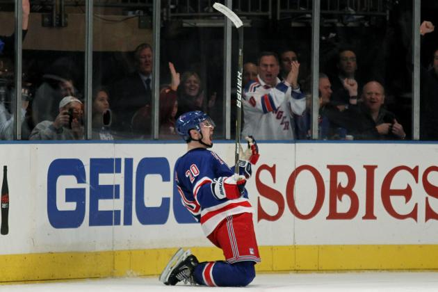 NHL Playoffs 2012: Rangers' Chris Kreider Making a Big Impact in Big Moments