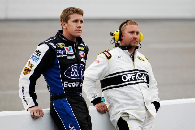 NASCAR Officiating Ends Carl Edwards' Hopes of Victory at Richmond