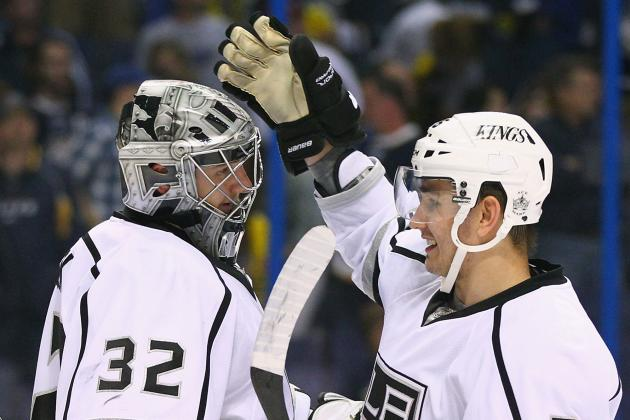 NHL Playoffs 2012: Kings' Jonathan Quick Putting Name in Conn Smythe Talk