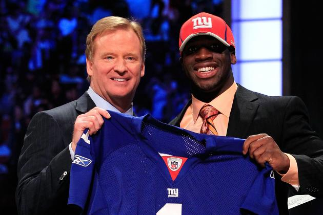 2012 NFL Draft: Why the New York Giants Are the Champions
