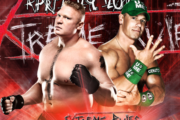 WWE Extreme Rules 2012: Will Brock Lesnar Era Begin with Victory vs. John Cena?