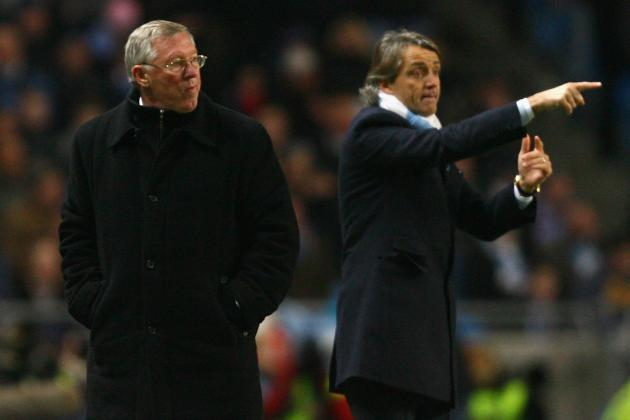 Manchester City vs. Manchester United: Ferguson, Mancini Play Mind Games
