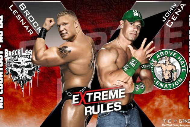 WWE Extreme Rules 2012: Why John Cena Needs to Be Squashed by Brock Lesnar