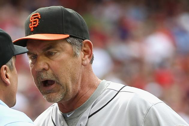 San Francisco Giants Manager Bruce Bochy Doing More Harm Than Good with Platoons