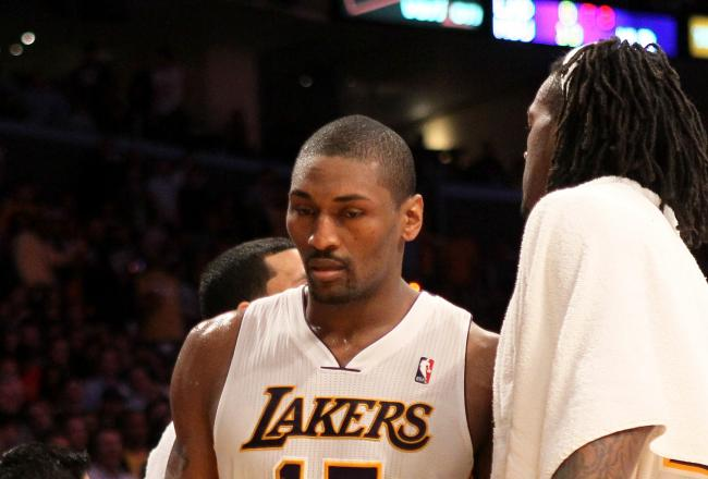 Metta World Peace's suspension will impact the Lakers defense and depth.