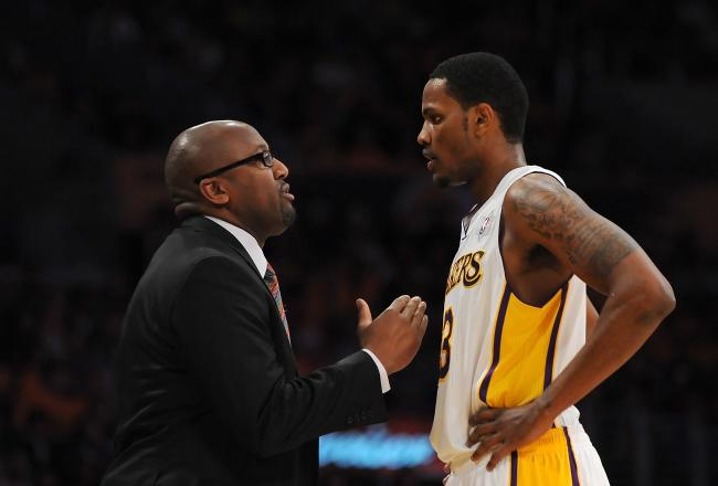 Mike Brown will turn to Devin Ebanks to replace Metta World Peace in this playoff series.