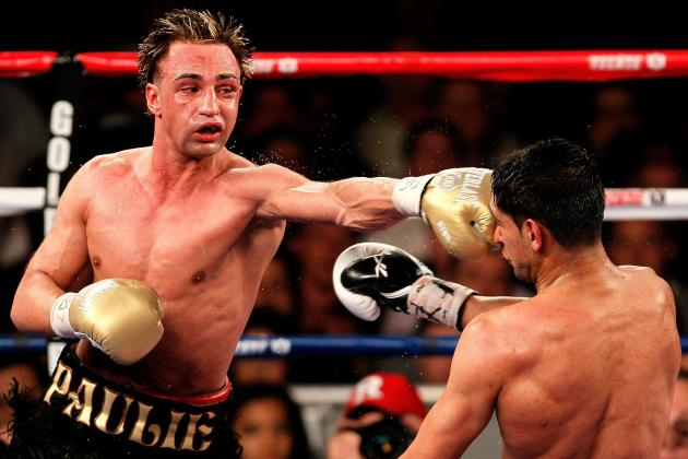 Paulie Malignaggi Knocks out Senchenko, Wins WBA Welterweight Title