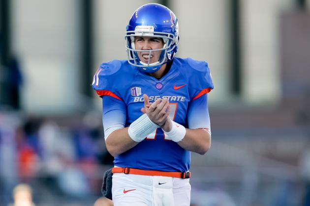Kellen Moore: Boise State Fans Must Learn to Accept QB's Reduced Role