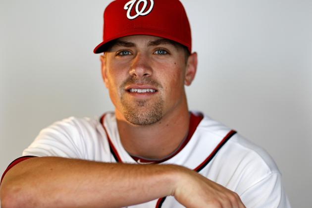Nats Call Up and Start Tyler Moore in Werth's Absence, Place Mark DeRosa on DL