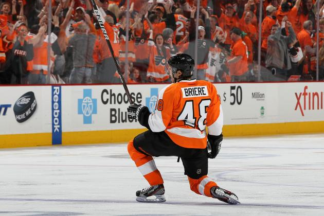NHL Playoffs 2012: Briere Is One of the Best Playoff Scorers in NHL History