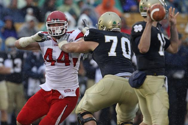 Notre Dame Football: A Tough Offensive Line Nearly Set for 2012