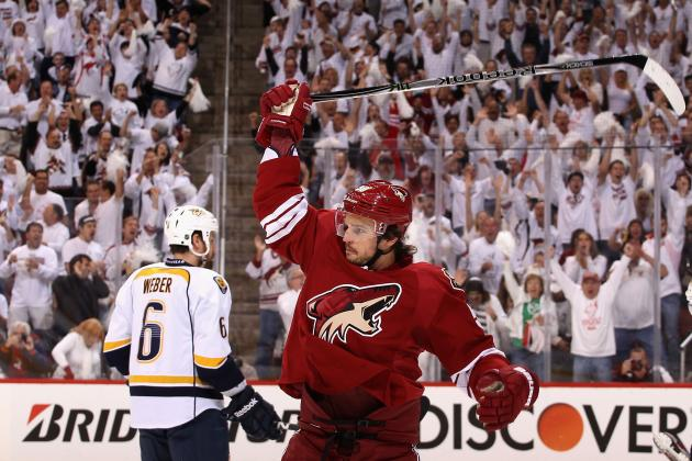 Predators vs. Coyotes: Highlights, Twitter Reaction and Analysis for Game 2