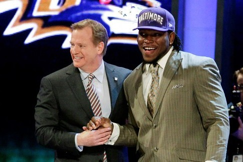 Ravens, Courtney Upshaw Among Winners of 2012 NFL Draft