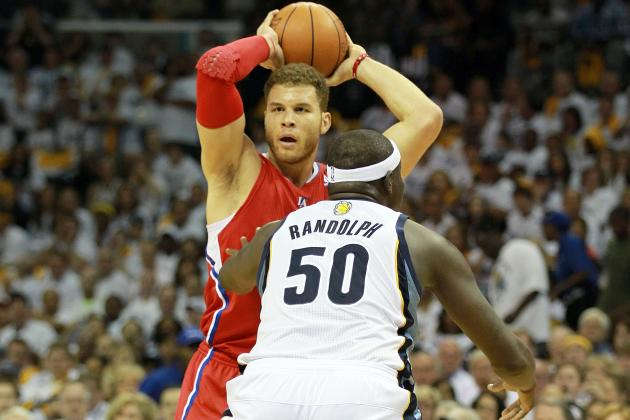NBA Playoffs 2012: Blake Griffin Tentative in First Playoff Appearance