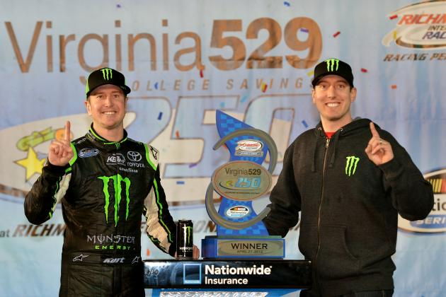 Busch Brothers Sweep Richmond Races