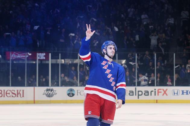 NHL Playoffs 2012: Chris Kreider Gives Rangers a Reason to Have Hope