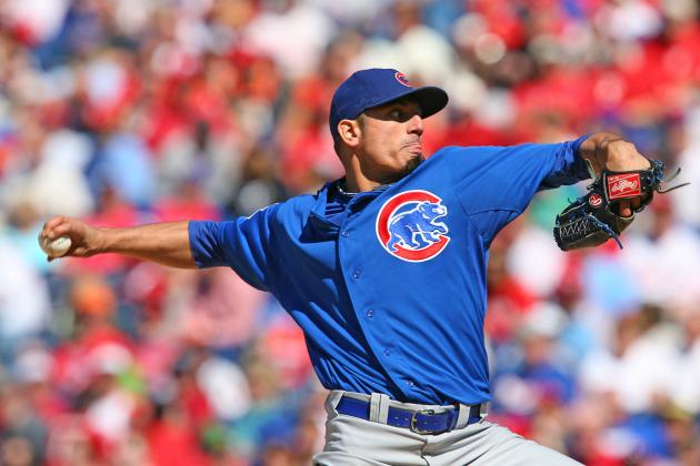 Cubs vs. Phillies: Matt Garza Quiets Phillies' Bats in Cubs' 5-1 Win