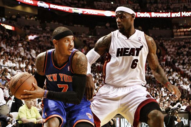 2012 NBA Playoffs: All but One Team Has Shown Signs of Weakness