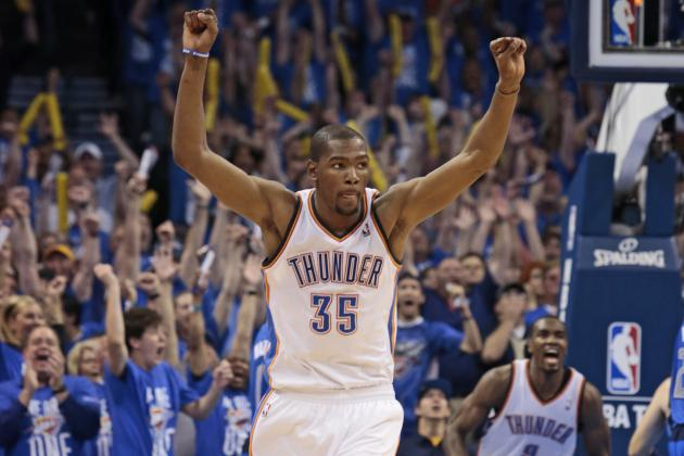 NBA Playoffs 2012: How OKC Thunder Can Build on Game 1 Triumph