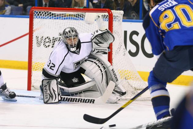 NHL Playoffs 2012: Kings Are Stanley Cup Contenders with Jonathan Quick in Net