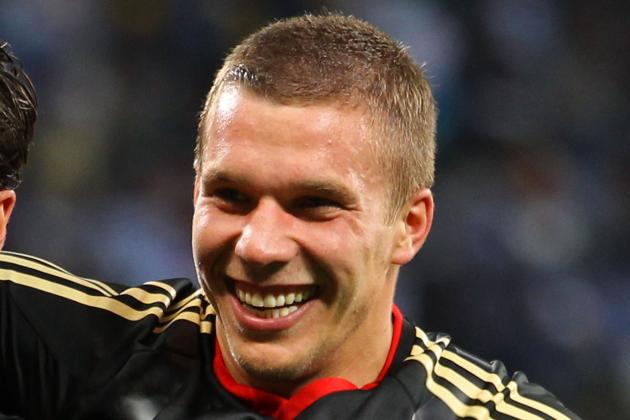 Arsenal Transfer News: Lukas Podolski Signs for Gunners