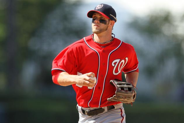 Bryce Harper: Bold Predictions for Phenom's First Stint in MLB