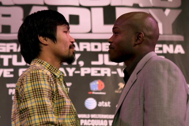 Manny Pacquiao: Timothy Bradley Wrong to Think Pac-Man Will Be 'Easy Work'