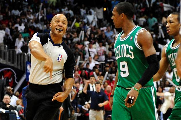 Rajon Rondo Suspended for Game 2 of the Boston-Atlanta Series