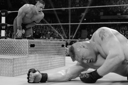 WWE Extreme Rules Aftermath: Does Lesnar Losing to Cena Make Sense?!