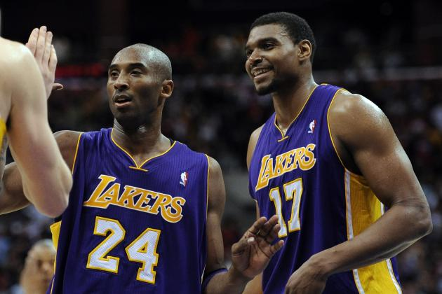Kobe Bryant, Andrew Bynum Play Word Association, Talk Coaches, Teammates