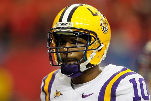 College Football 2012 Top 150 Players: No. 130 Russell Shepard, LSU WR