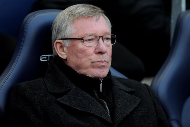 Manchester Derby 2012: Alex Ferguson Responsible for Manchester United's Loss