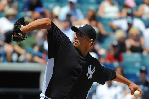 New York Yankees: Andy Pettitte Up and Down in Latest Minors Start for Bombers