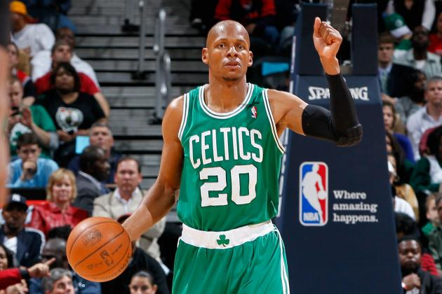 Boston Celtics: Rondo's Suspension Makes Ray Allen's Ankle Injury Loom Larger