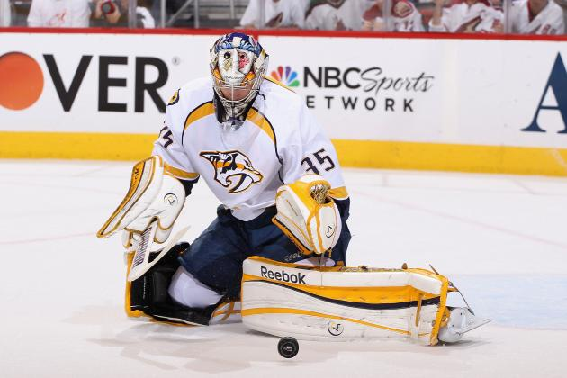 NHL Playoffs: Is Pekka Rinne Beginning to Falter for the Predators?