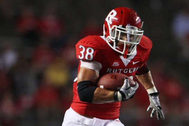 Undrafted Free Agents 2012: Rutgers' Martinek, Stapleton and Wynn Sign