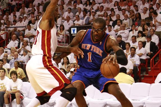 NBA Playoffs 2012: Amar'e Punches Fire Extinguisher Following Loss to Heat