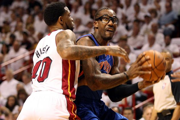 2012 NBA Playoffs: Knicks Lose, Amar'e Stoudemire Suffers Injury Postgame