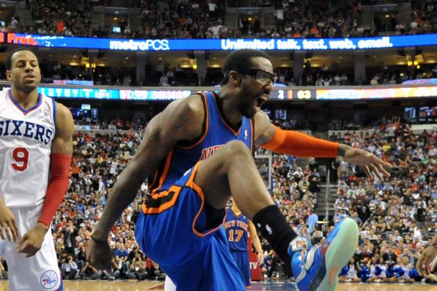 Amar'e Stoudemire  Punches Fire Extinguisher and Gets Stitches