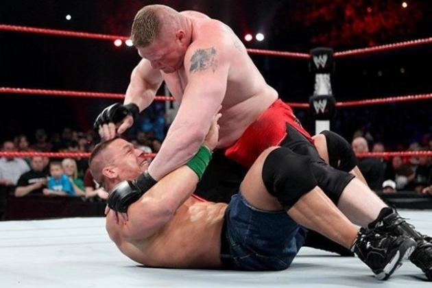 WWE Extreme Rules 2012 Results: John Cena vs. Brock Lesnar a Match for the Ages