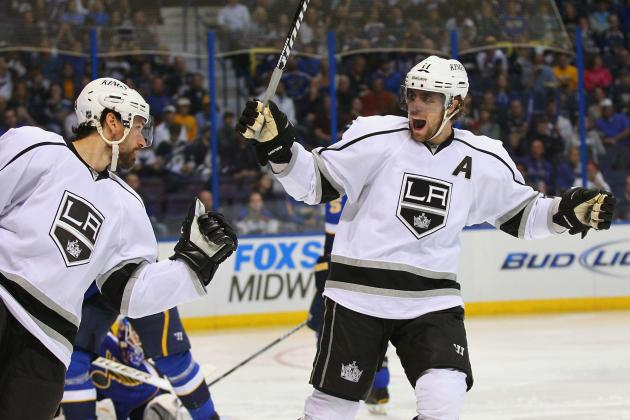 NHL Playoffs 2012: LA Kings Dominate Blues to Prove They Are Cup Worthy