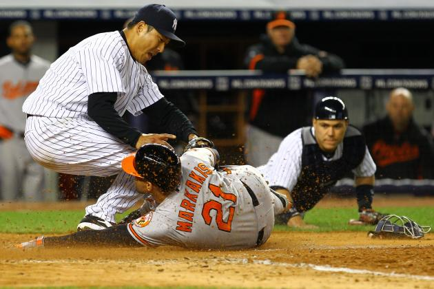 New York Yankees: Hiroki Kuroda Saves the Game to Beat Baltimore Orioles