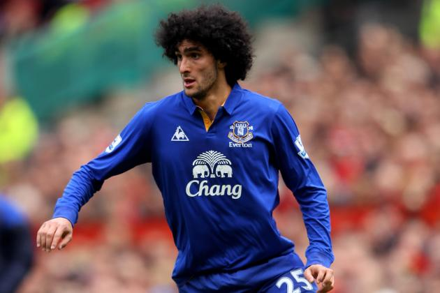 Chelsea Transfer Rumor: Blues Prep $35.5 Million Bid for Marouane Fellaini