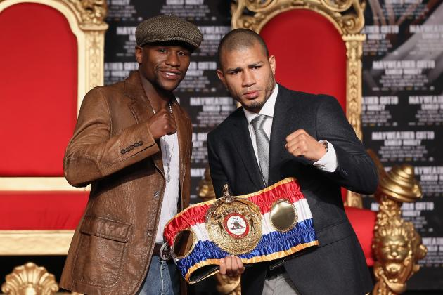 Mayweather vs. Cotto: Fight Time, Date, Undercard, PPV Info and More