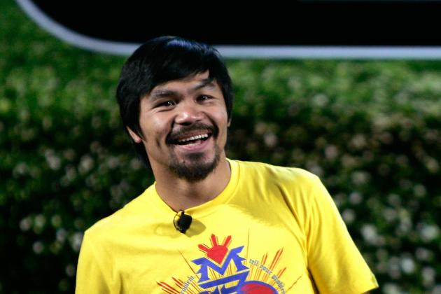 Manny Pacquiao: Pac-Man Should Give Little Thought to Floyd Mayweather's Fight